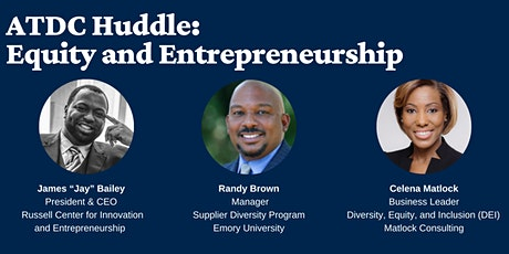 ATDC Huddle: Equity and Entrepreneurship Tickets
