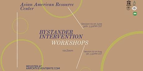 AARC Bystander Intervention Workshops - Summer 2021 tickets