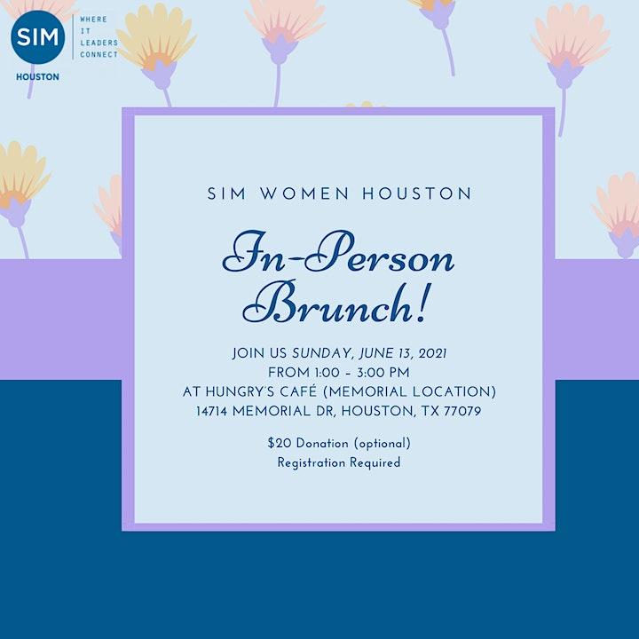 SIM Women Houston Event: In-Person Brunch! image