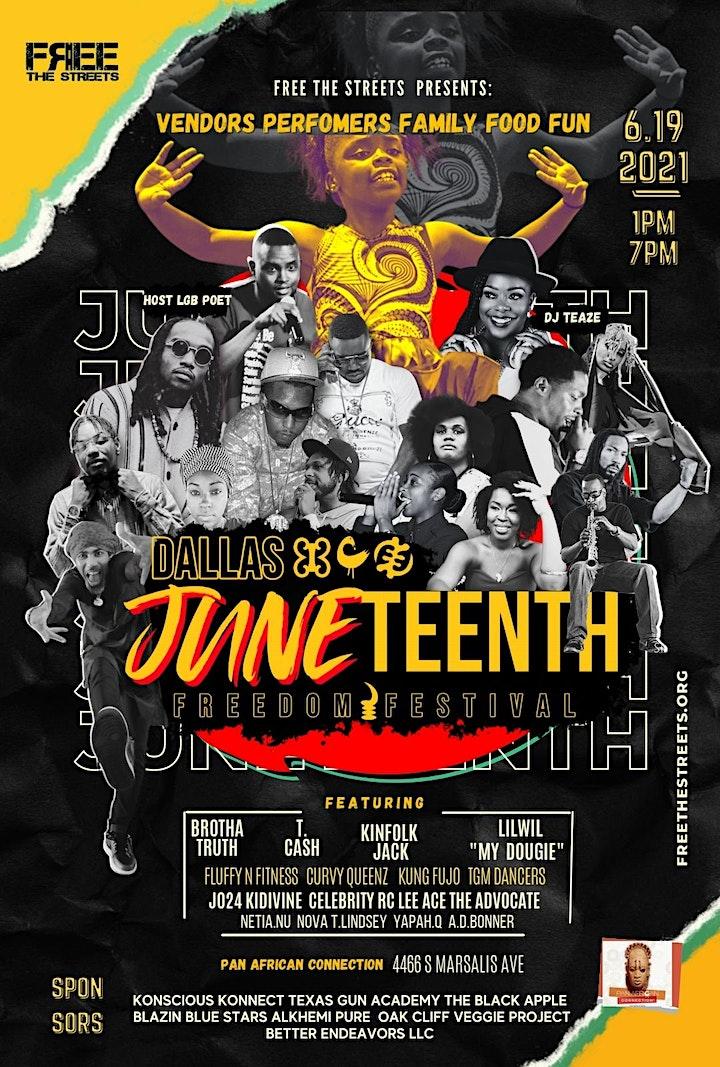 Dallas Juneteenth Freedom Fest 2021 image