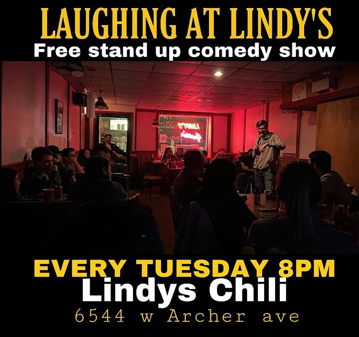 Laughing at Lindy's Standup Comedy Showcase image