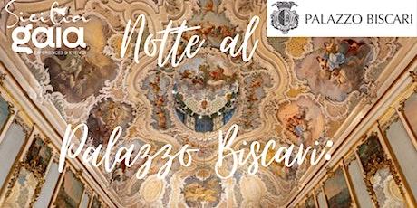 Notte al Palazzo Biscari: visita guidata biglietti