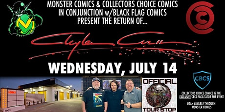7/14 Clayton Crain Signing VIP tickets