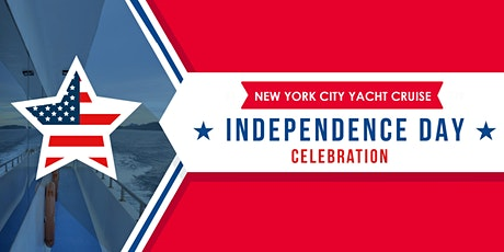 JULY 4TH BOAT PARTY YACHT CRUISE    OPEN BAR & FOOD LIVE FIREWORK tickets