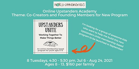 Online Upstanders Academy: Co-Creators and Founding Members for New Program tickets