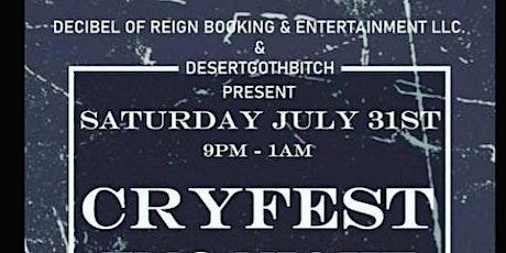 CryFest(Emo Night W DJ Matt Luv) tickets