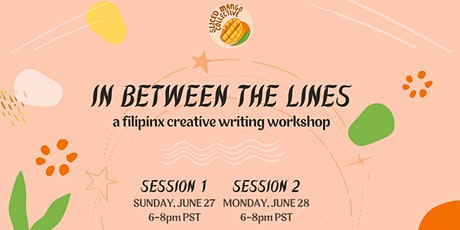 In Between the Lines: A Filipinx Creative Writing Workshop tickets