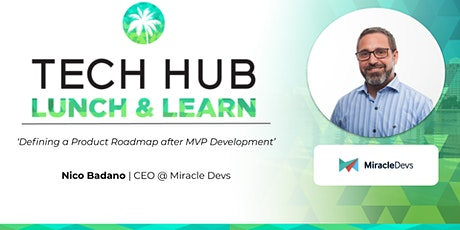 LUNCH & LEARN | Defining a Product Roadmap after MVP Development tickets