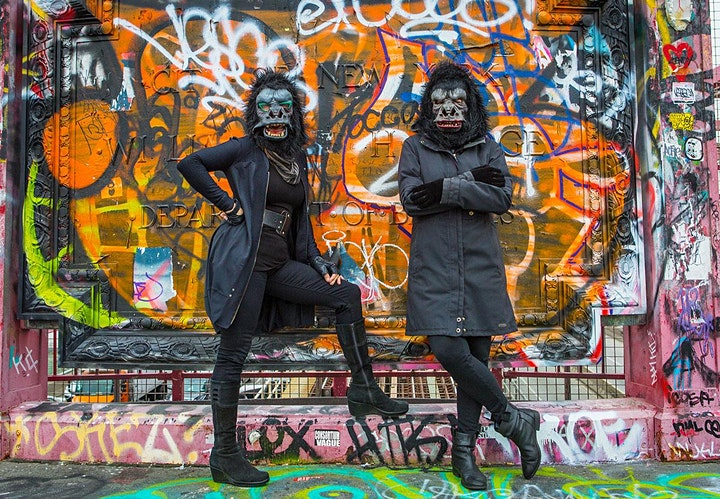 The Male Graze, an online event with the Guerrilla Girls image