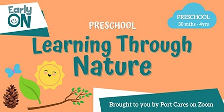 Preschool Learning Through Nature -Nature Scavenger Hunt tickets