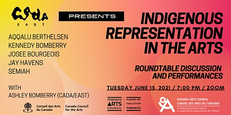 Community Learning Series: Indigenous Representation in the Arts tickets