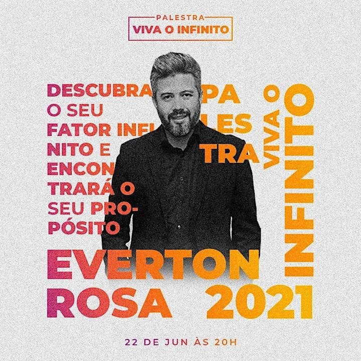 Imagem do evento Viva o Infinito - Everton Rosa
