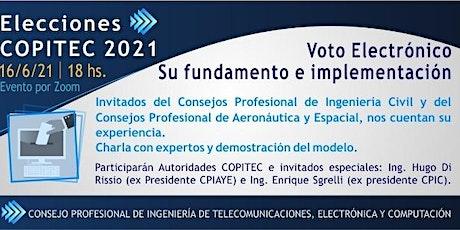 VOTO ELECTRÓNICO - Su Fundamento e Implementación boletos