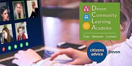 Citizens Advice Devon: Benefits Overview (2 half days) tickets