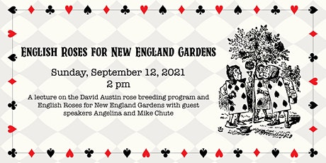 English Roses for New England Gardens tickets