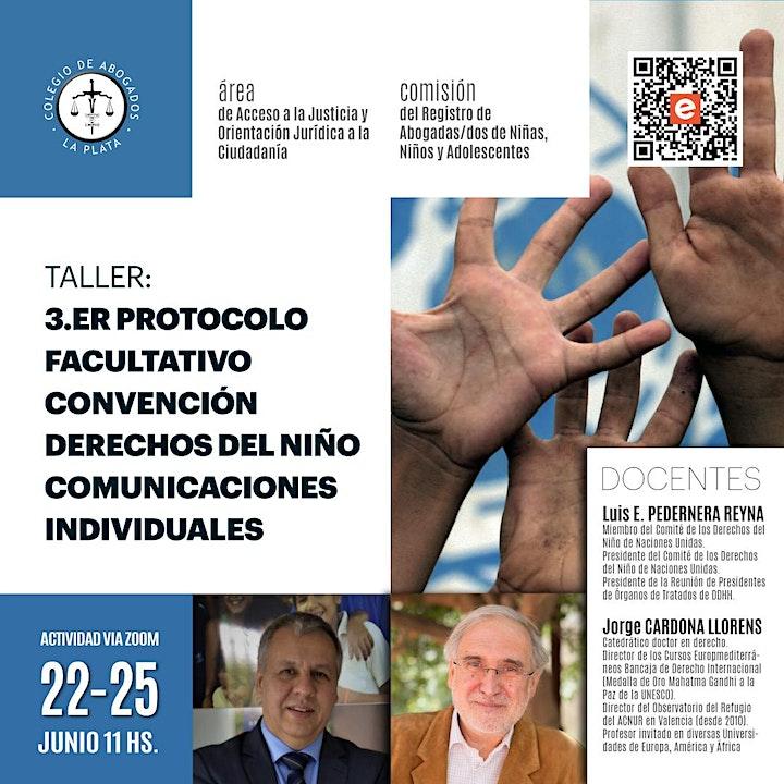 Imagen de Taller 3er. Protocolo Facultativo  Convención Derechos  del Niño