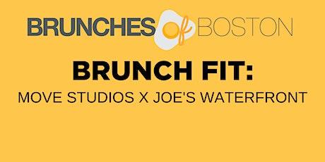 BRUNCH FIT: Move Studios X Joe's Waterfront tickets