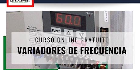 """Curso Online Gratuito """"Variadores de Frecuencia"""" entradas"""