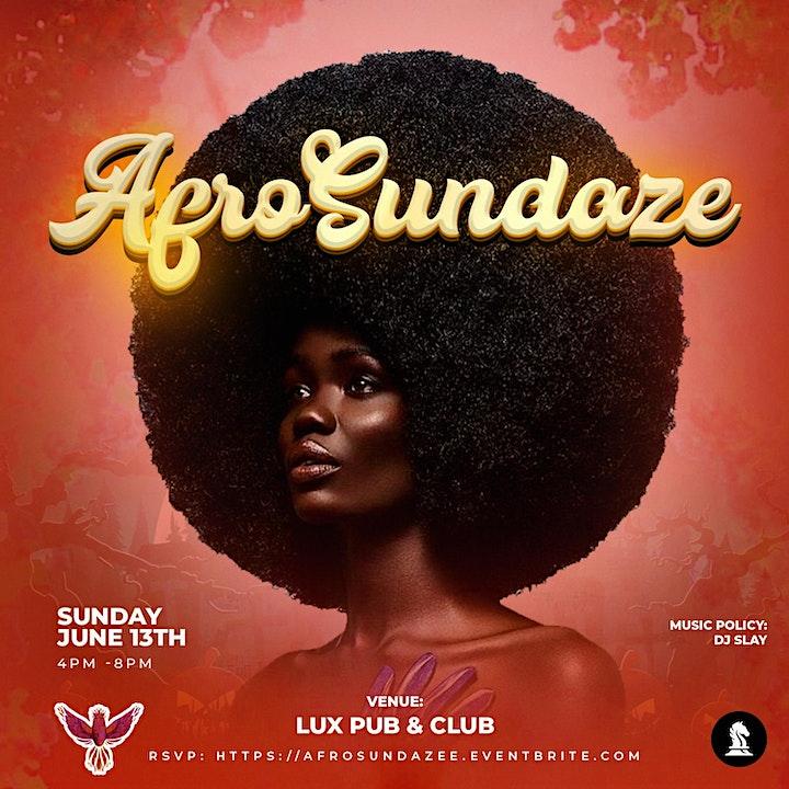 AFROSUNDAZE: The Hottest Afrobeats Day Party image