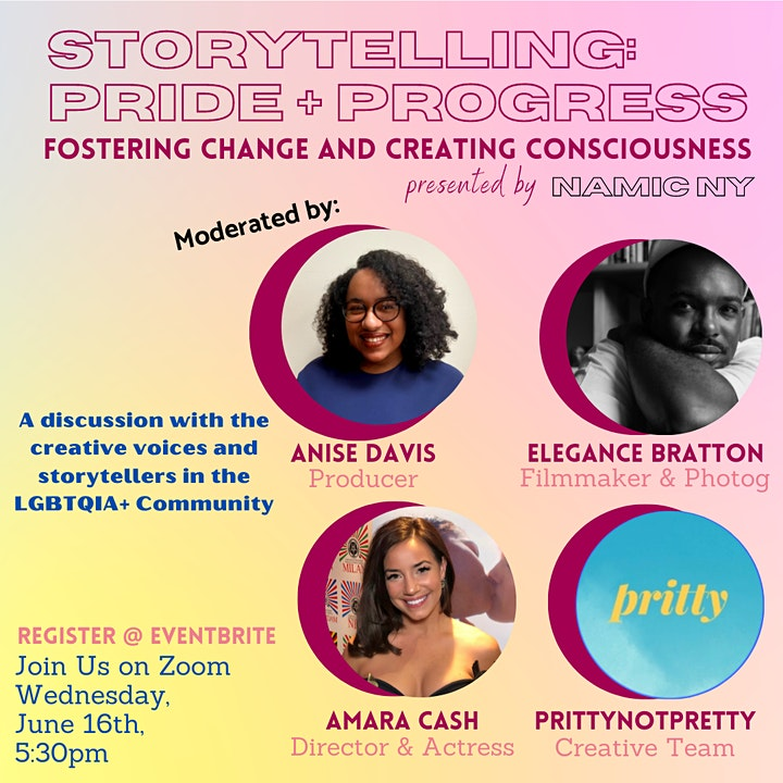 Storytelling, Pride & Progress: Fostering Change and Creating Consciousness image