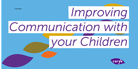 Improving Communication with your Children - Mardarin tickets