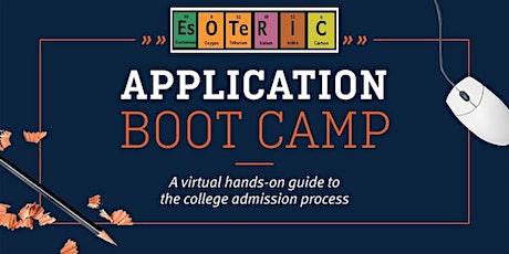 Class of 2022 Summer College Application Prep tickets