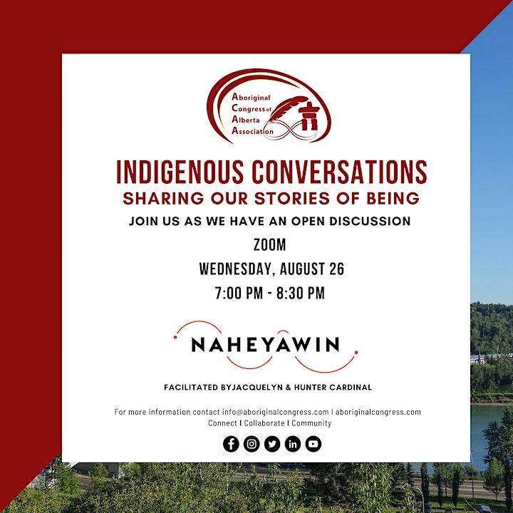 Indigenous Conversations - Open Discussion image