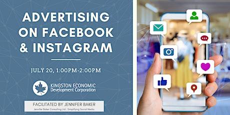 Advertising on Facebook & Instagram tickets