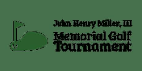 John Henry Miller III Memorial Golf Tournament tickets