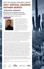 "2021 Arizona Author Series: ""Western Ways Film Service"" tickets"