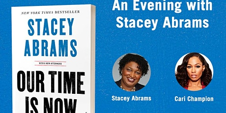 A Virtual Evening with author Stacey Abrams for her book, Our Time is Now tickets