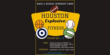 Back 2 School Workout Camp tickets