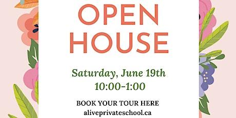 Open House - Alive Montessori & Private School tickets
