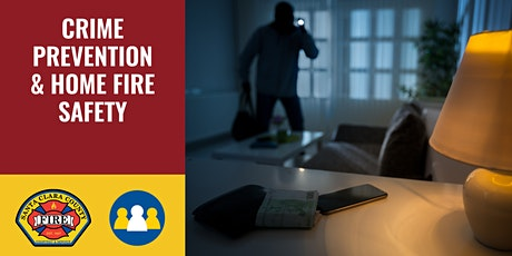 NOW ONLINE: Crime Prevention & Home Fire Safety - Los Gatos/Monte Sereno tickets