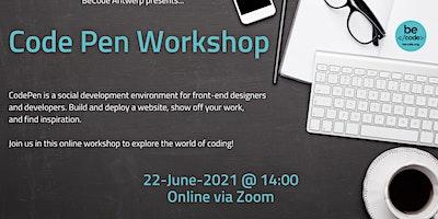 BeCode Antwerp – Code Pen Workshop