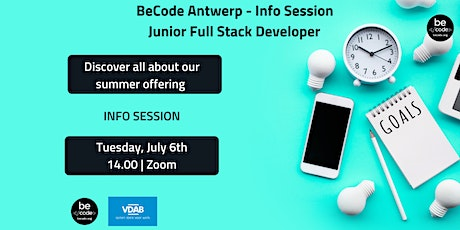 BeCode Antwerp - Info Session tickets