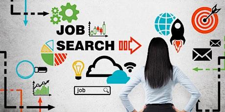 Effective Job Search Strategies Online Workshop tickets