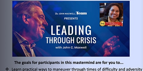 MasterClass for ChangeMakers -  How to Lead In A Crisis ZNDKIN tickets