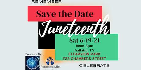 Juneteenth Celebration in Gallatin tickets