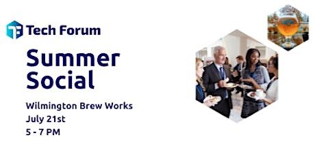 Tech Forum Summer Social tickets