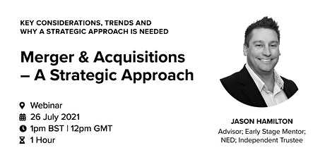 A Strategic Approach: Mergers & Acquisitions tickets