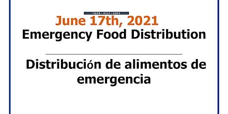Emergency Food Distribution/Distribucion de alimentos de emergencia tickets