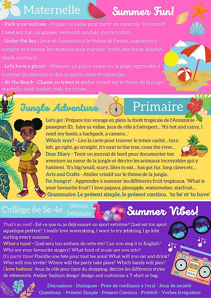 Image pour Summer School 2021