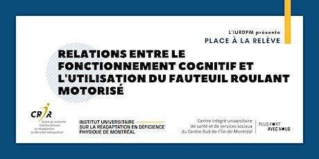 Relations entre le fonctionnement cognitif et l'utilisation du FR motorisé billets
