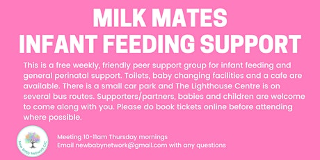 Milk Mates Infant Feeding Support - Dudley tickets