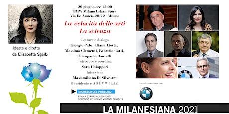 Milanesiana21: Palù, Liotta, Clementi, Gatti, Donzelli - BMW Milano biglietti