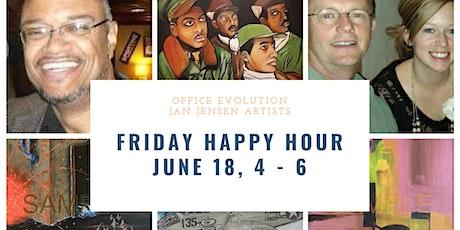 Happy Hour  Art Showcase with Jan Jensen Artists & Office Evolution OP tickets