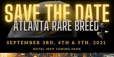 Rare Breed Atlanta 14th Annual 2021 tickets