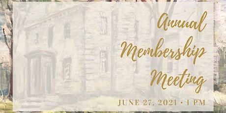 Annual Membership Meeting tickets