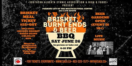 Brisket, Burnt Ends & Beer BBQ with live music tickets